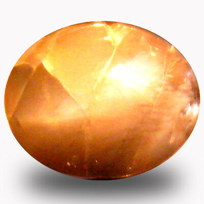1.64 ct  Oval Cabochon (8 x 6 mm) Un-Heated Color Change Alexandrite Cat's Eye