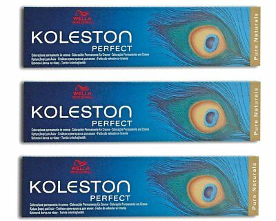Wella Koleston Perfect 7/07 Tintura Capelli Biondo Medio Naturale Sabbia 3X 60ML
