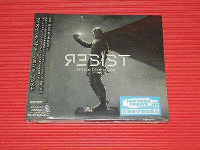 2019 WITHIN TEMPTATION Resist JAPAN DIGIPAK CD