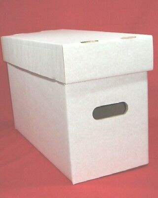 3 Compact Size American Comic Boxes - Marvel/DC - Each Hold Approx.200 Comics