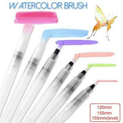Portable Paint Brush Pencil Soft Watercolor Brush Pen Beginner Paint Drawing US