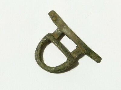 Bronze Buckle Unusual Shape Metal Detector Find - Ex Martins Lot #CM13