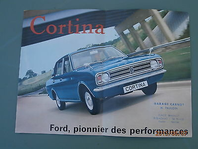 MANUELS POUR ANCIENNE FORD CORTINA MKII tous modeles