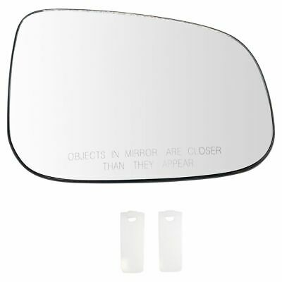 Passenger Side Mirror Glass FIT FOR VOLVO S60 01-03 S80 99-03 Heated W//Holder RH