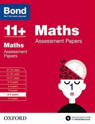 Bond 11+: Maths: Assessment Papers 6-7 years by Len Frobisher 9780192740113