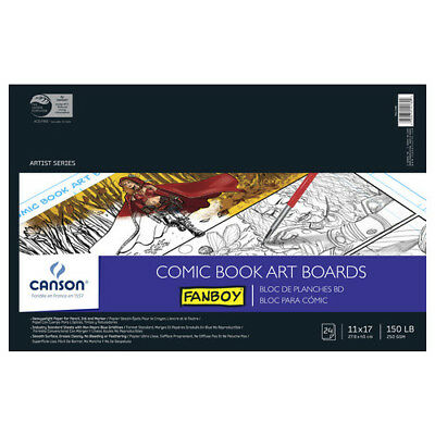 Canson / Pacon Papers 100510872 Comic Book Art Boards 150Lb 24 Sheets 11X17