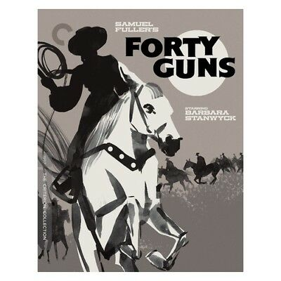 Criterion Collections Brcc2942Bd Forty Guns (Blu-Ray/1957/ws/b&w/english/unco...