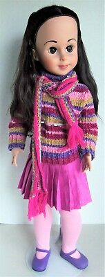 "Tonner 29"" Big BETSY McCALL Doll wearing Comfy Colors outfit, with Stand"