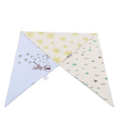 Baby Scarf Triangle Saliva Towel Bibs Bandana Head Cotton Cute Feeding LS3