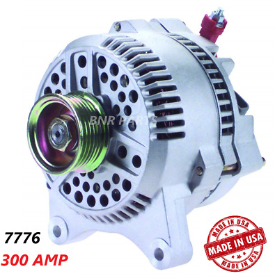 300 AMP 7776 Alternator Ford Lincoln Mercury High Output Performance HD NEW USA