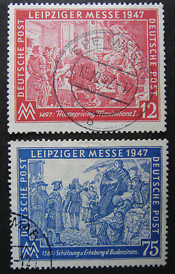 Germany Allied Occupation 1947 Leipzig Autumn Fair used *COMBINED SHIPPING*