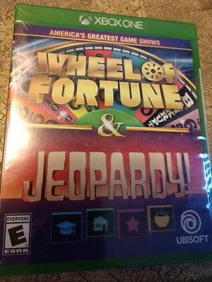 NEW Wheel Of Fortune and Jeopardy Xbox One Edition Video Game SEALED