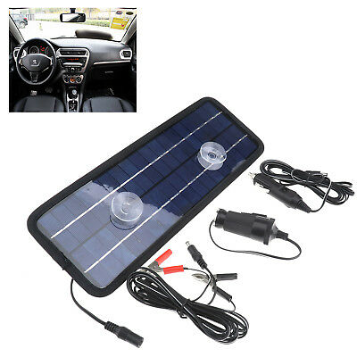 New Power Portable Solar Trickle Panel 12V 4.5W Battery Charger Car Boat