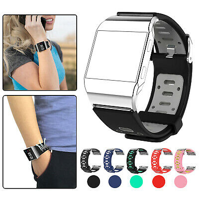 Replacement Silicone Sports Wrist Band Strap for Fitbit Ionic Bracelet Watch