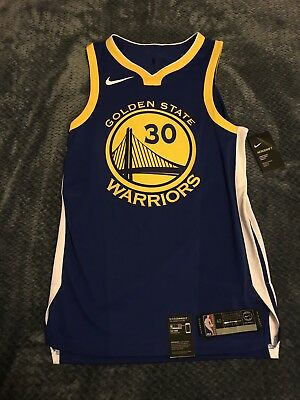 NWT Nike Golden State Warriors Authentic Jersey Steph Curry  30 40  Small S   200 713ea87f7