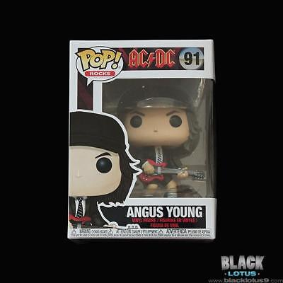 Funko Pop! Angus Young AC/DC AC DC Rocks IN STOCK Pop 91