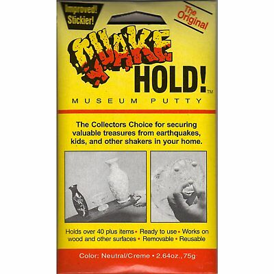 Quake Hold 88111 2.64 Oz Quake Hold Museum Putty