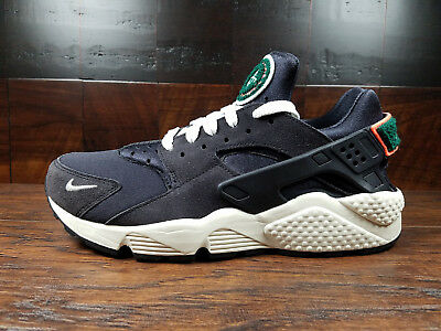 704830-015  NIKE AIR Huarache Run Premium Men s Grey Mango  NEW ... b43ced023