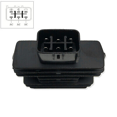 ANPART Voltage Regulator Rectifier Fit For 2005-2008 2010-2016 Kawasaki Mule 600 2005-2016 Kawasaki Mule 610 2017 Kawasaki Mule SX