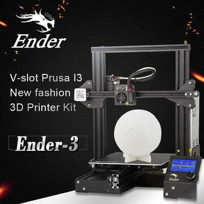 Creality Ender 3 3D Printer Resume Print OSHW Certified 15A 24V 220X220X250mm US