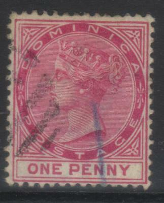 DOMINICA 1886-1890 CROWN CA SG22a USED