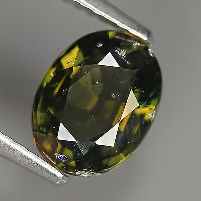 Cute 1.95 Ct Natural Unheated Greenish Yellow KORNERUPINE Oval Gem @ See Vide!