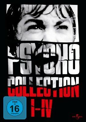Psycho Collection I-IV 1 2 3 4 DVD 1960-1990 Norman Bates
