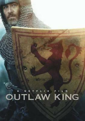 Outlaw King 2018 DVD. Used. Free delivery.