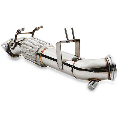 "3"" Stainless Exhaust De Cat Bypass Decat For Ford Focus St2 St3 St 250 St250"