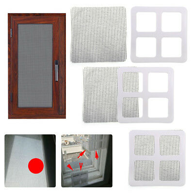 3pcs Anti-Insect Mosquito Fly Bug Door Window Screen Net Repair Patch Adhesive