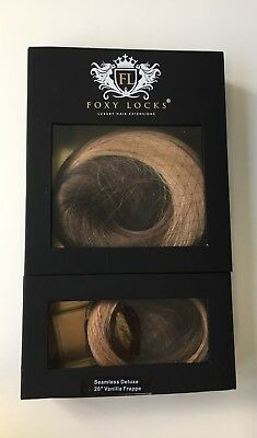 Foxy Locks Genuine Seamless Hair Extensions - Custom Ombre 20""
