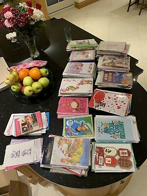 WHOLESALE GREETINGS & BIRTHDAY CARDS X 400 £30 Mostly In Plastic Wrap JOB lot