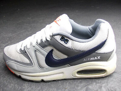 separation shoes 32fcd dae05 Nike Air Max Command Tn 90 Navigate 40  41 Weiss Grau Blau Orange Top  Zustand