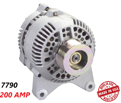 200 Amp 7790 Alternator Ford E F Series SuperDuty High Output New Performance HD