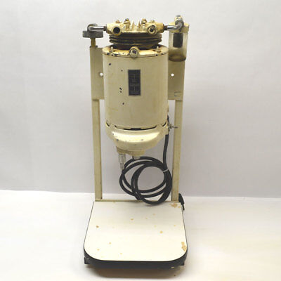 B.F. Wehmer Dental Orthodontic Mixer w/ Vacuum 1725-RPM Vertical Stand 115-120V