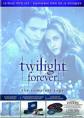 The Twilight Saga: The Complete Collection [5-Disc Blu-ray + Digital Copies]