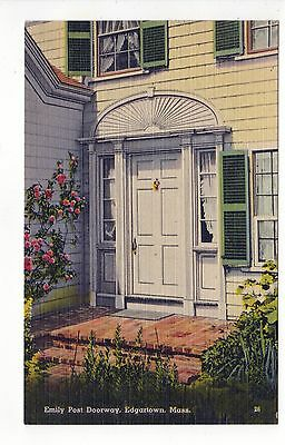 EDGARTOWN Martha's Vineyard MASSACHUSETTS PC Emily Post Doorway MARTHAS MA Mass