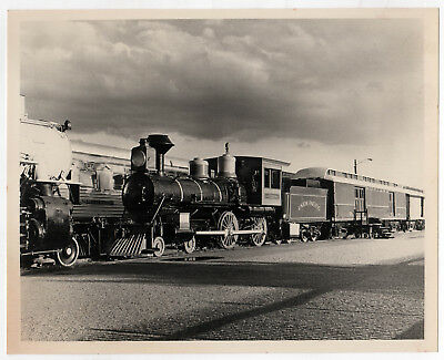 STEAMTOWN USA Train PHOTOGRAPH Photo 1960s RAILROAD Union Pacific UP Vermont VT
