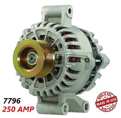 250 AMP 7796 Alternator Ford F Super Duty Excursion High Output Performance HD