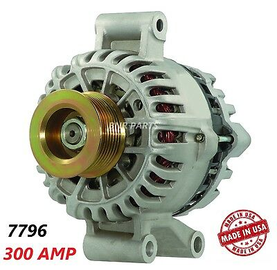 300 AMP 7796 Alternator Ford F Super Duty Excursion High Output Performance HD