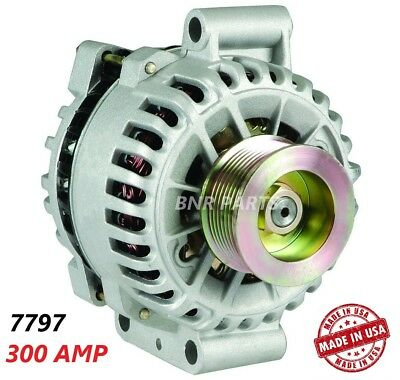 300 AMP 7797 Alternator Ford E Series Super Duty High Output Performance HD NEW