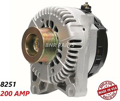 200 Amp 8251 Alternator Ford F150 Harley Davidson Lightning New High Output HD