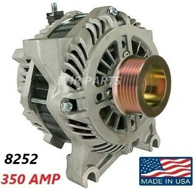 350 AMP 8252 Alternator Ford Mustang 1999-2004 4.6L NEW High Output Performance