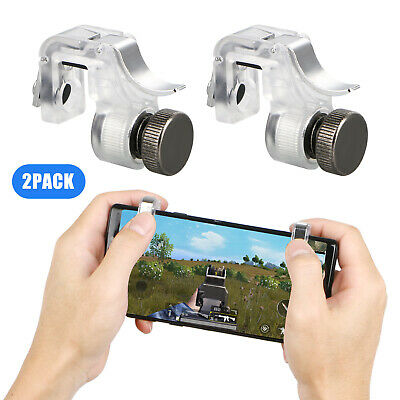 Mobile Phone Gaming Trigger Fire Button Handle Grip for Shooter Controller PUBG