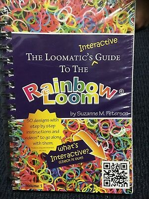 Rainbow Loom Bands Instruction Book.  New Condition.  Ex Shop Stock.  200pages.