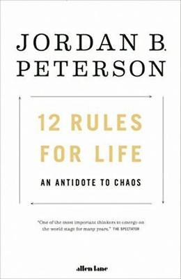 12 Rules for Life - Jordan B. Peterson - Free Shipping
