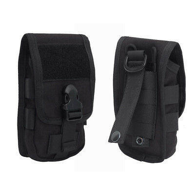 1000D Military Tactical Molle Belt Clip Cell Phone Pouch Bag Case Cover Black