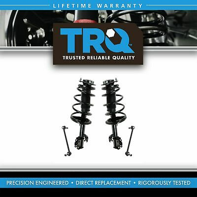 Front Suspension Kit Strut & Spring Assemblies w/ Sway Bar End Links for Sienna