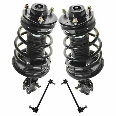Front Suspension Kit Strut & Spring Assemblies with Sway Links for Camry Solara
