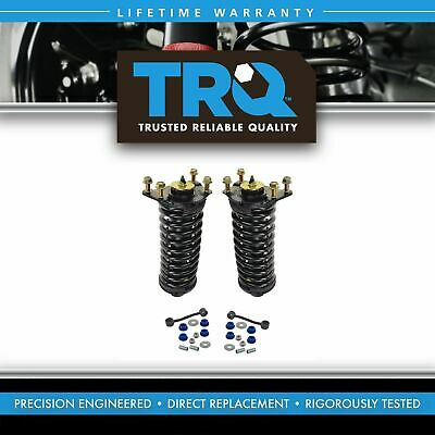 Front Suspension Kit Strut & Spring Assemblies with Sway Links for Nitro Liberty